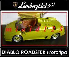 1/43 -  Lamborghini Collection 50° : DIABLO ROADSTER Prototipo [1992] - Die-cast