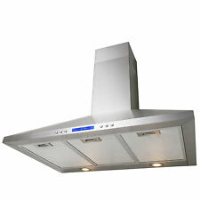 """30"""" Kitchen Wall Mount Stainless Steel Range Hood Stove Vents A130"""