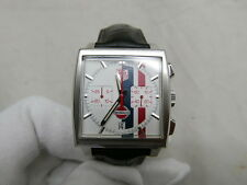 TAG Heuer Monaco Gulf White Limited Edition - Steve McQueen - CW2118 - World SH