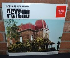 BERNARD HERRMANN - Psycho Original Soundtrack, Limited 180 Gram RED VINYL New!