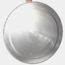 """18""""inch 450mm notched rim 1.6mm Diamond Lapidary Saw Blade arbor 32mm Rock Agate"""