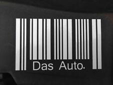 DAS AUTO STRICHCODE VW Sticker aufkleber für fenster autos laptops motorrad ipad