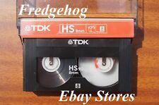 TOP QUALITY TDK P5-90 HS (High Standard) Video 8 / 8mm CAMCORDER TAPE / CASSETTE