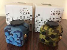 NY SHIP Fidget Cube Anxiety Stress Relief Focus Toys New Year Gift Camoflage