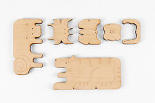 Tree Hopper Toys Wooden Food Chain Puzzle - Jungle  Wooden toy