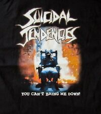 FREE SAME DAY SHIPPING SUICIDAL TENDENCIES YOU CANT BRING ME DOWN 2 SIDED XL