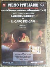 Il Capo dei Capi - Gioè e Liotti - episodio 3 - nero italiano n. 31 - DVD nuovo