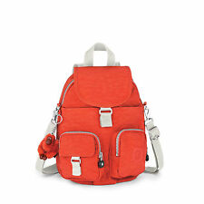 BNWT Kipling  Firefly N Small Backpack CORAL ROSE C (Orange) SPF2016 RRP £74