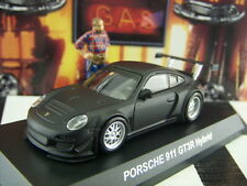 KYOSHO PORSCHE 911 GT3R HYBRID MATT BLACK SCALE 1:64 SECRET VERSION