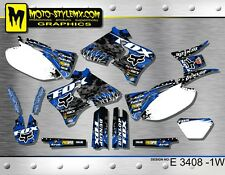 Moto StyleMX Yamaha graphics decals kit WRf 250 400 426 '1998 up to '2002