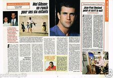 Coupure de presse Clipping 1991 (1 page 1/2) Mel Gibson