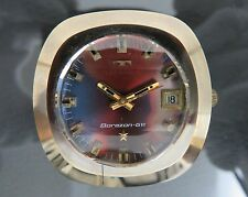 Authentic TECHNOS Borazon-GⅥ Automatic Mens Wrist Watch 25Jewels 2824 2632 Swiss