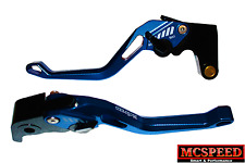 HONDA CBR125R 2004 to 2017 Adjustable Brake & Clutch CNC Levers Blue