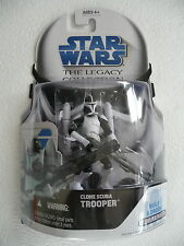 Star Wars Legacy Collection 2008 Droid Factory CLONE SCUBA TROOPER BD10 NIB