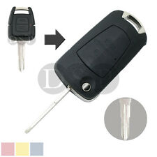 Flip Remote Key Shell fit for Opel Corsa Astra Kadett Monza Montana 2 BTN Case