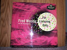 Brunswick LAT-8068 Fred Waring and his Pennsylvanians For Listening Only 1950's