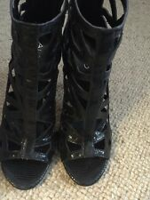 Aldo Caged leather boots 4