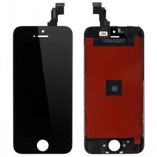Black Front LCD Display Touch Screen Digitizer Assembly Replacement for iPhone 5