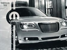 2013 2014 Chrysler 300 300C SRT Original Car Accessories Mopar Brochure Catalog
