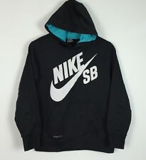 WOMENS NIKE VINTAGE RETRO HOODIE SWEATER SWEATSHIRT SPORT ATHLETIC UK XS