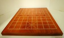 SOLID ROSEWOOD CHINESE CHESS BOARD (XIANGQI) - 8 LBS - INLAID - 4 cm LINES (805)