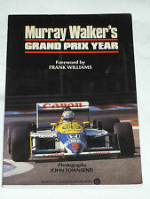 MURRAY WALKERS GRAND PRIX YEAR BOOK 1987 - 1ST EDITION (SIGNED) F1 FORMULA ONE