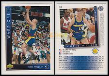 NBA UPPER DECK 1993/94 - Chris Mullin # 44 - Warriors - Ita/Eng - MINT