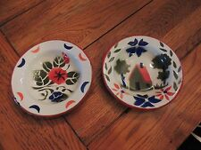 Enamel Graniteware fruit Bowl house / flower Design