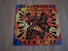 "THE BEATMASTERS WITH PP ARNOLD - BURN IT UP  (RHYTHM KING  7"" )"