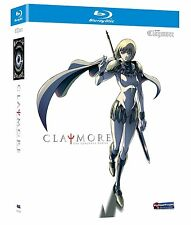 CLAYMORE : THE COMPLETE ANIMATED SERIES   - Blu Ray - Sealed Region free