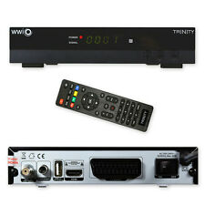 HD Sat Receiver WWIO TRINITY USB PVR Single cable distribution Media player 1080