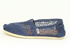 Toms Women's Morocco Crochet Flats Shoes Size 6