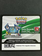 Pokemon TCG : XY PROMO ZYGARDE COLLECTION BOX XY152 Online Code Card
