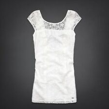 NWT HOLLISTER by Abercrombie Womens Boneyard Beach Lace Dress size 7