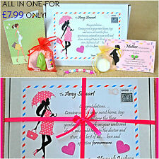 Baby Shower Gift/Games/Keepsake New MUM to be Gift First Class post PERSONALISED