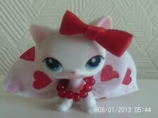 Accesorios para Littlest Pet Shop Falda, Collar y arco Lps Gato No Incluido