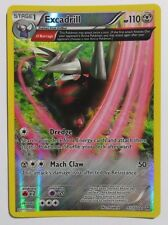 Excadrill REV HOLO - 97/160 XY Primal Clash - Rare Extended Art Pokemon Card