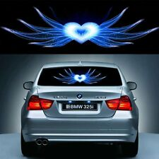 Lotus Car Sticker Music Rhythm LED Flash Light Sound Activated Equalizer 90X25CM