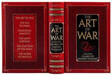 SUN TZU ART OF WAR + TAO TE CHING + CONFUCIUS ANALECTS ++ LEATHER BOUND GIFT ED
