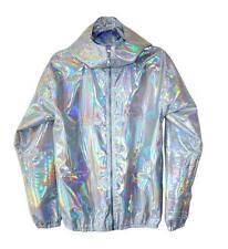Bola Hologram Iridescent Light Jacket 8 10 12 14 UK