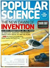 2013 Popular Science Magazine: 10 Best Prototypes Of Year/Paper Bike/Digital Ax
