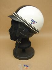 Vtg New NOS Motorcycle Half Shell Helmet Dixie Vepo Made Italy 7 1/8 Buco Bell