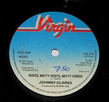 "Johnny Clarke - 7"" Single - Roots, Natty Roots, Natty Congo - Virgin VS 173"