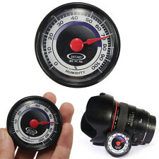 Pro Accurate Durable Analog Hygrometer Humidity Meter Thermometer Indoor Outdoor