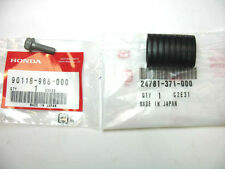 NEW HONDA GEAR SHIFT LEVER RUBBER & BOLT 95-13 TRX250X TRX250EX TRX450 TRX400