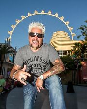 Guy Fieri 8 x 10 GLOSSY Photo Picture IMAGE #3