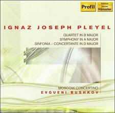 Pleyel: Quartet; Symphony in A major, Sinfonia Concertante, New Music