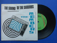 The Members - The Sound Of The Suburbs / Handling The Big Jets, Virgin VS-242