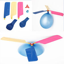 Hot Sale Colorful Classic Balloon Helicopter For Children Portable Flying Toy