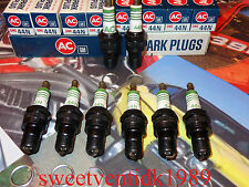 'NOS' AC-44N Spark plugs.....'Set of (8)'.....Chevelle, Camaro, Impala...etc...